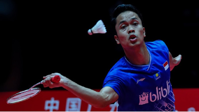 Dikalahkan Kento Momota, Anthony Ginting Runner Up BWF World Tour Finals 2019