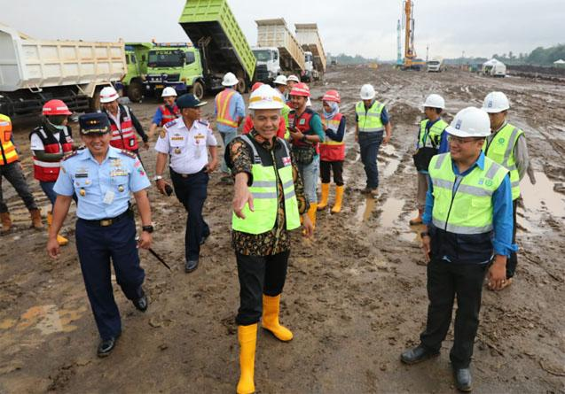 Progres Bandara JB Soedirman Baru 14 Persen, Ganjar: Kita Dorong Terus