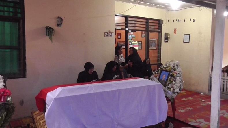 Lettu Erizal Zuhri yang Gugur di Papua Dimakamkan di Taman Makam Pahlawan Sidikalang