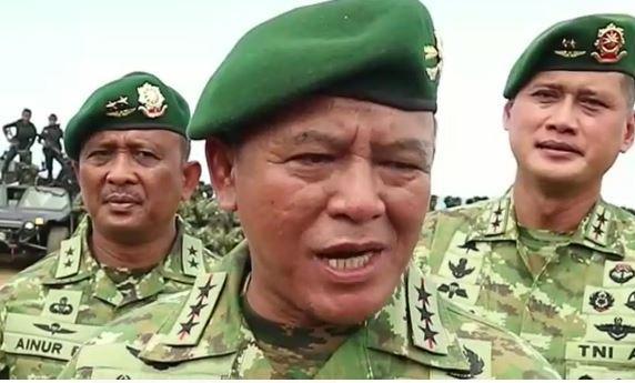 Tutup Latihan, Pangkostrad Kukuhkan 1.500 Prajurit