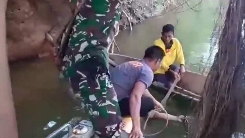 Perempuan Paruh Baya di Konawe Utara Tewas Diterkam Buaya saat Mandi di Sungai