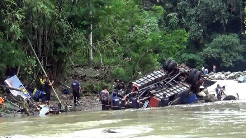 Polda Sumsel Limpahkan Berkas Kasus Bus Masuk Jurang di Pagaralam
