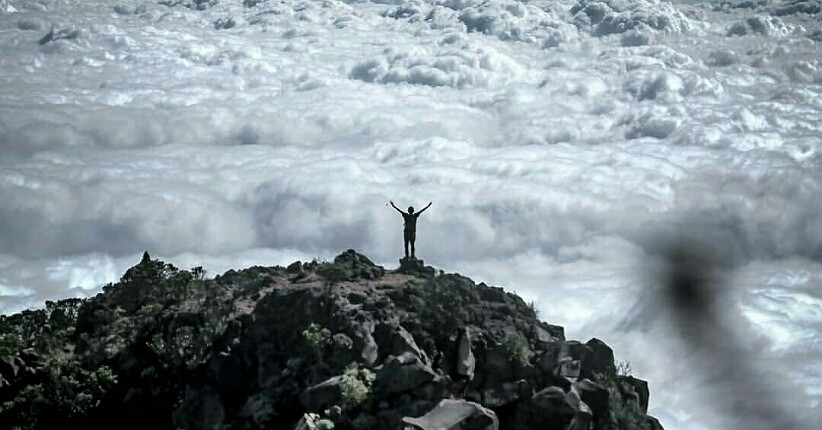 Gunung Arjuno Diramaikan 1 000 Pendaki Intip Keindahan Puncaknya