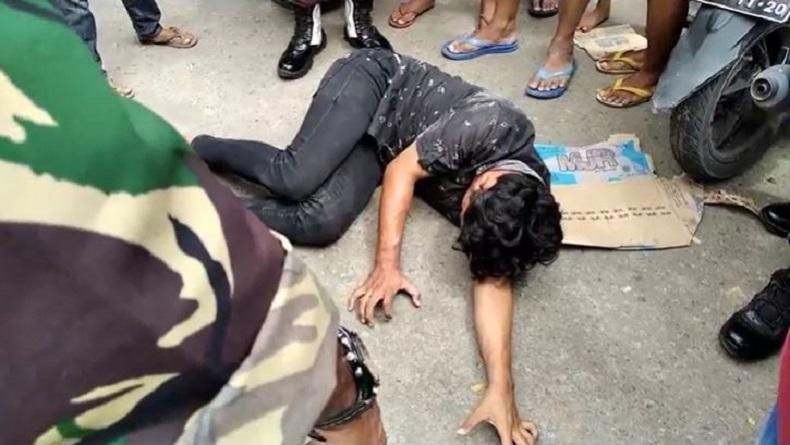 Diputus Pacar Jelang Tahun Baru, Pemuda di Gowa Nyaris Bunuh Diri di Tengah Jalan Raya