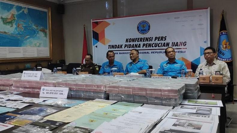 Sejumlah Aset Milik Tersangka Kasus Narkoba yang Disita BNN Senilai Rp60 M