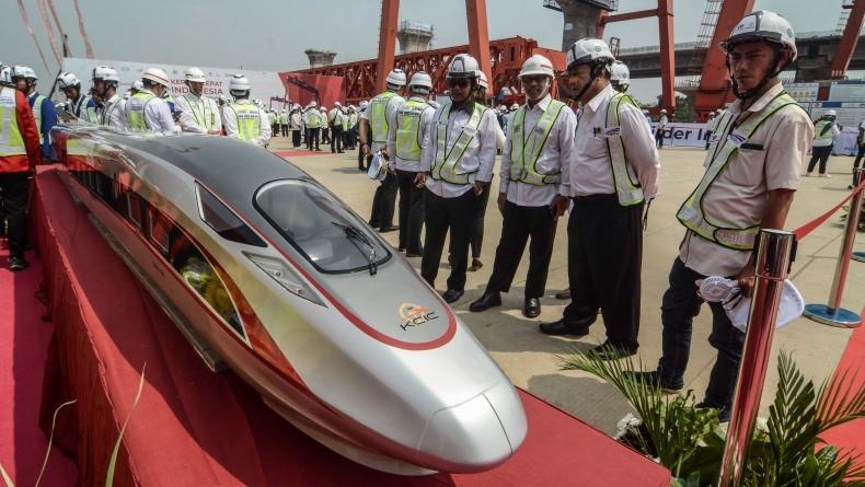 Jokowi Minta Proyek Kereta Cepat Jakarta-Bandung Jalan Terus di Tengah Covid-19