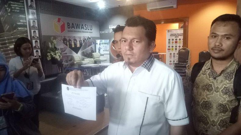 Polemik Surat Suara, TKN Laporkan Ketua Panwaslu Kuala Lumpur ke DKPP