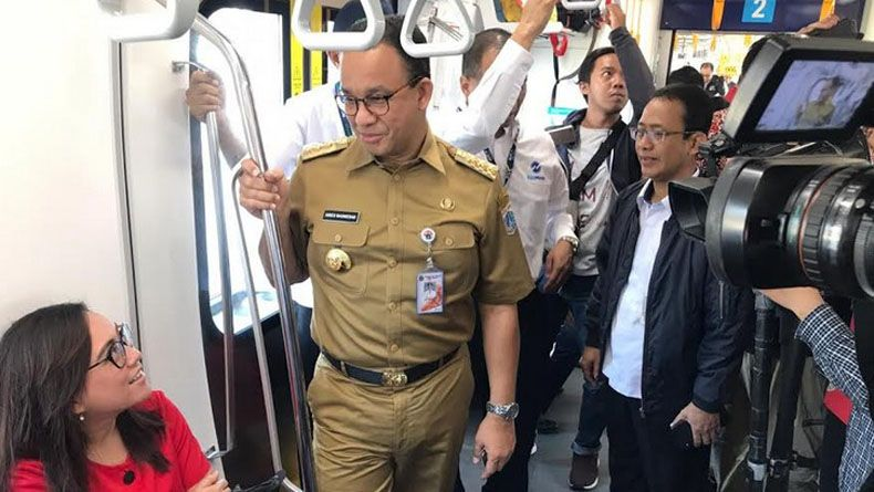 Sementara 8 Kereta Beroperasi, MRT Jakarta Melayani Setiap 10 Menit