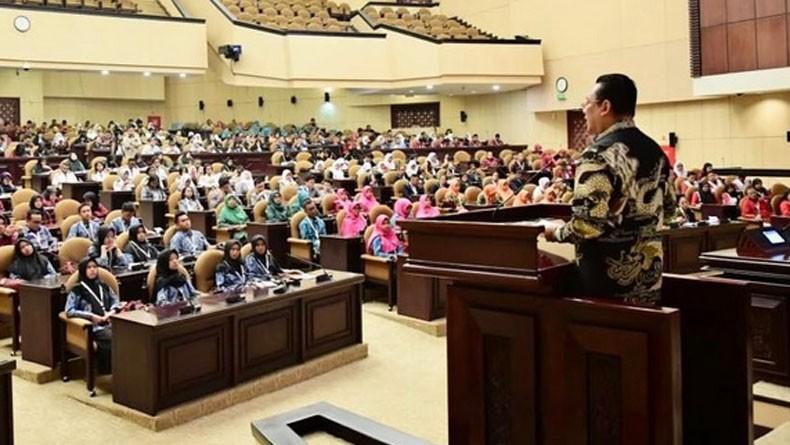 Ketua MPR Bambang Soesatyo Ajak Pelajar Terapkan Nilai Luhur Pancasila