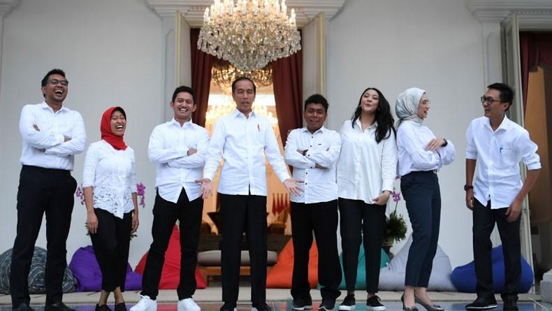 Ini 14 Staf Khusus Presiden Jokowi