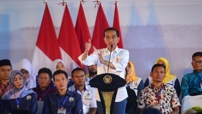 Jokowi Ancam Reshuffle, Ini Potret Kinerja Menteri Versi Arus Survei