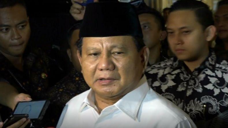 Prabowo Salat Idul Fitri di Hambalang, Tahun Ini Tak Gelar Open House