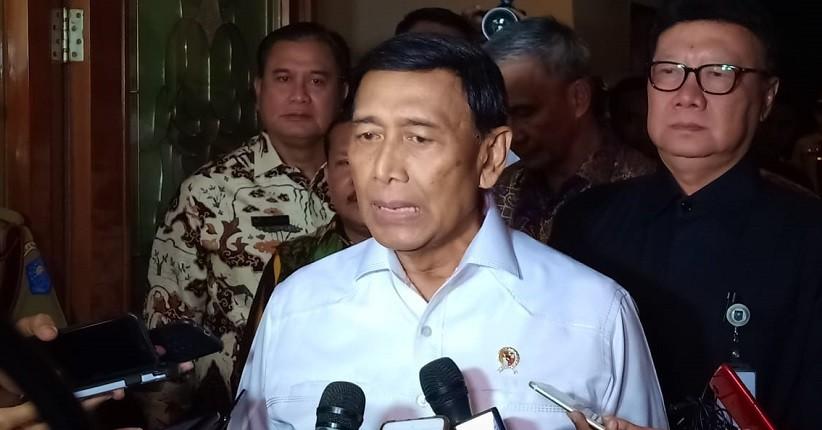 Jelang Purnatugas, Wiranto Bolos dari RSPAD Pamit ke Kantor Kemenko Polhukam