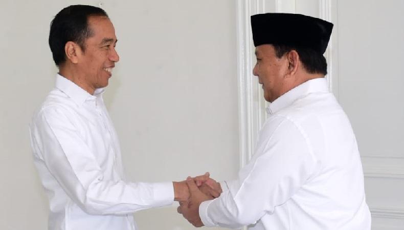 Foto-Foto Pertemuan Jokowi dan Prabowo di Hari Pertama Tahun 2020 di Yogyakarta