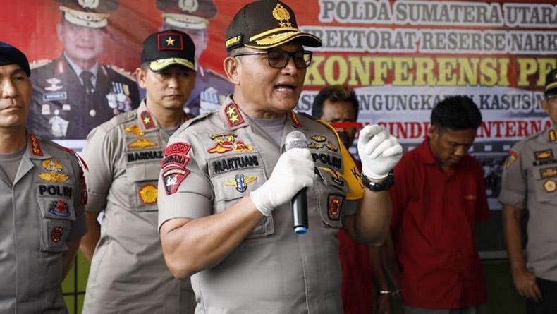 Sepanjang 2019, Polda Sumut Pecat 38 Personel, 4 di Antaranya Perwira