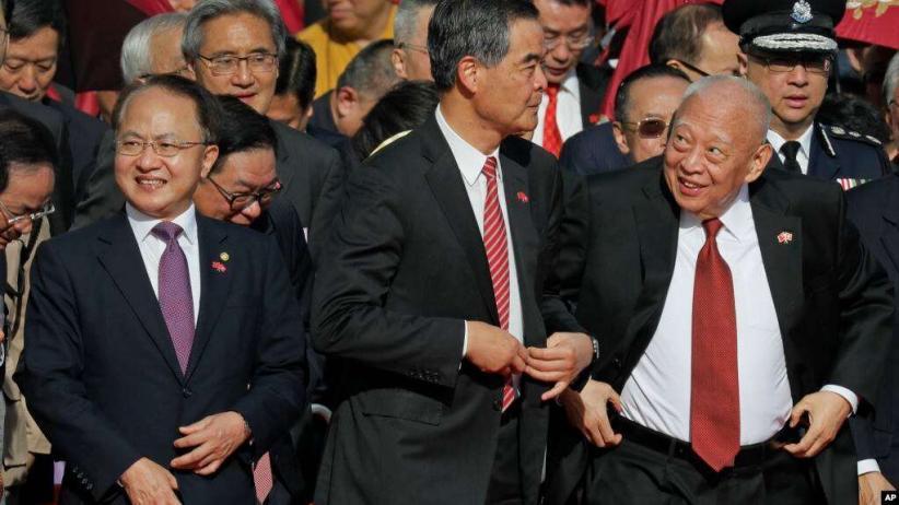 Unjuk Rasa dan Kekerasan Tak Kunjung Usai, China Copot Kepala Kantor Penghubung Hong Kong