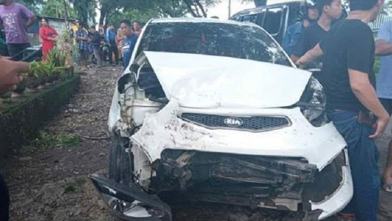 Kepala Desa di Gowa Tabrakan di Jalan Poros Malino, 6 Orang Luka-Luka