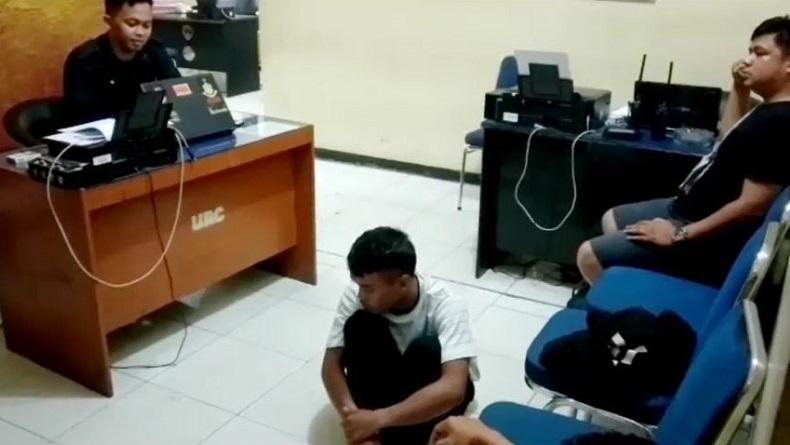 Ditabrak Mobil Korban, Pelaku Begal di Palopo Tersungkur dan Diamuk Massa