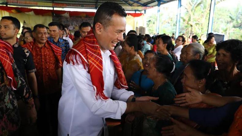 Hadiri Natal Oikumene di STM Hulu Deliserdang, Wagub Sumut Ajak Warga Jaga Kerukunan