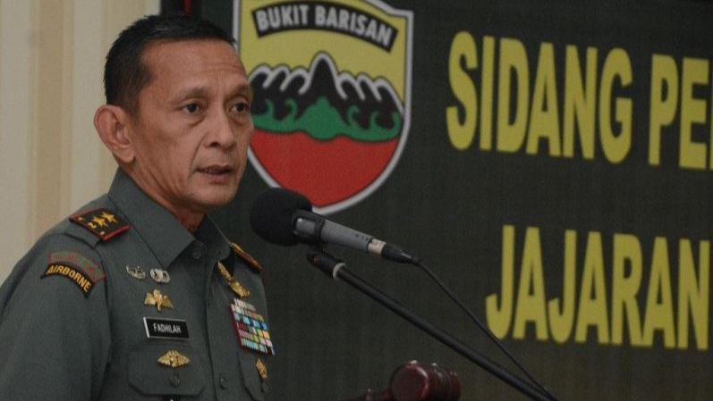 Pangdam Bukit Barisan: Prajurit Siap Bergerak Bantu Perkuat Wilayah Natuna