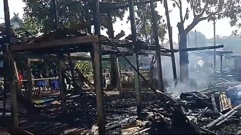 7 Rumah Warga di Soppeng Terbakar, Ibu dan Anak Tewas Terjebak Kobaran Api