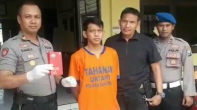 Kakak Adik Penjambret Handphone di Sidoarjo Gagal Beraksi, 1 Pelaku Berhasil Diamankan