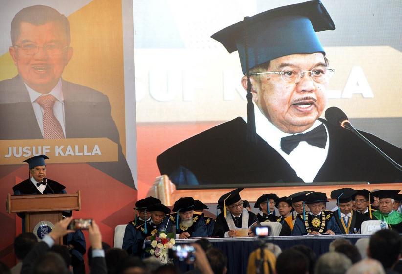 Jusuf Kalla Dianugerahi Gelar Doktor Kehormatan ITB