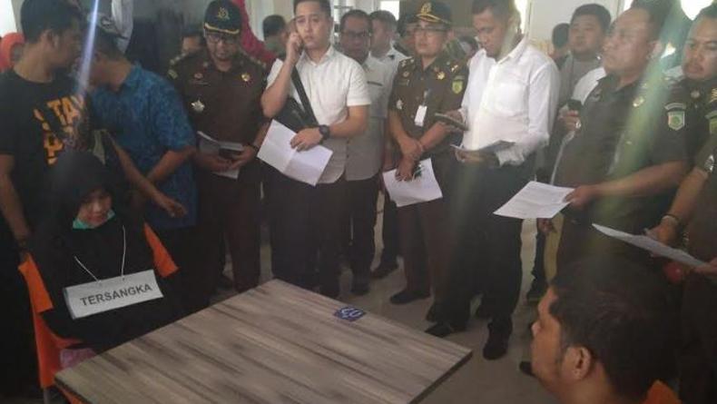 Polisi Gelar Reka Ulang Pembunuhan Hakim PN Medan Tahap Awal di 4 Titik