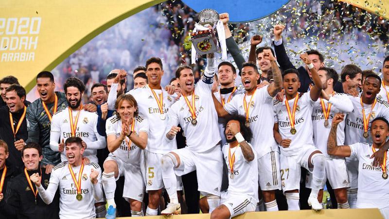 Real Madrid Juara Piala Super Spanyol usai Kalahkan Atletico via Adu Penalti