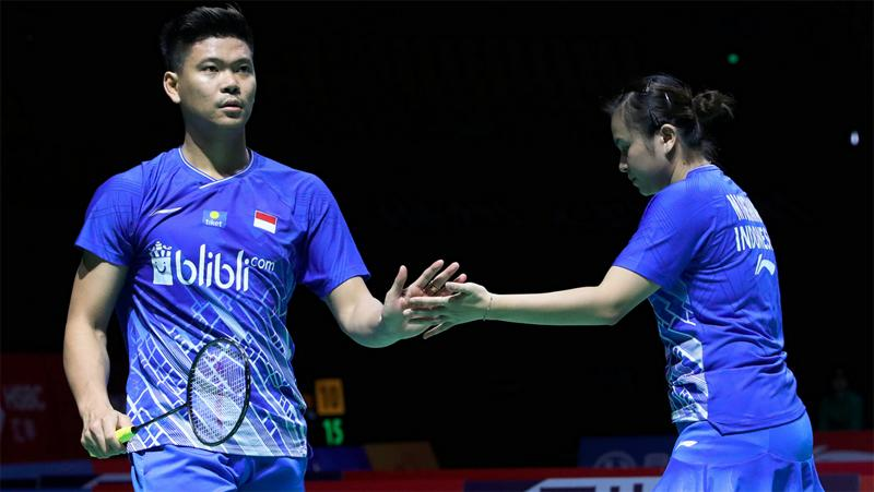 Praveen/Melati Singkirkan Duo Denmark dari Thailand Open 2021