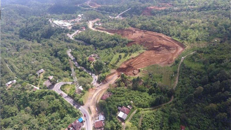 PUPR Lanjutkan Pembangunan Jalan Mengwitani-Singaraja Bali