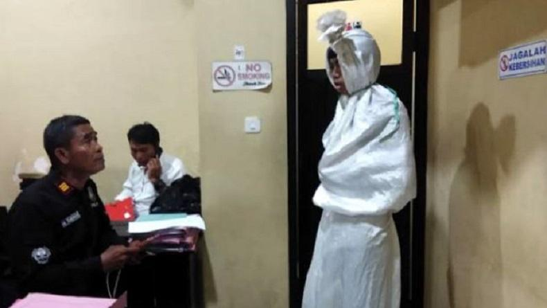 Prank Pocong di Gowa, Pelaku Akui Dibayar Rp20.000