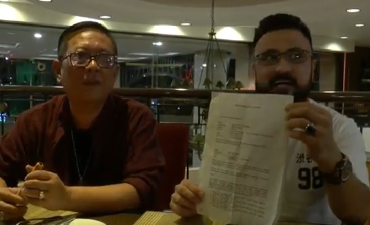 Diberi Cek Kosong Artis Rizal Djibran Ditipu Promotor Asal Semarang