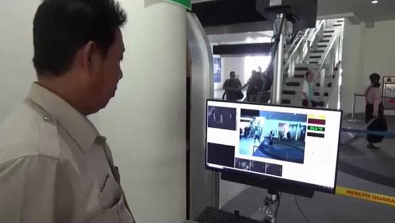 Antisipasi Virus Korona, Bandara Kualanamu Aktifkan Alat Pendeteksi Suhu Tubuh