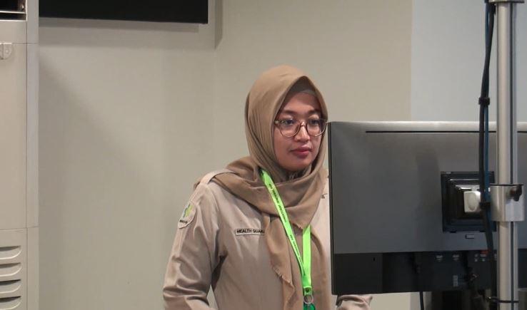 Virus Corona Mewabah di China, Bandara Husein Sastranegara Bandung Pasang Pemindai Suhu Tubuh