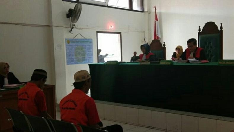 Dua Pengedar 144 Kilogram Ganja di Palembang Divonis Seumur Hidup