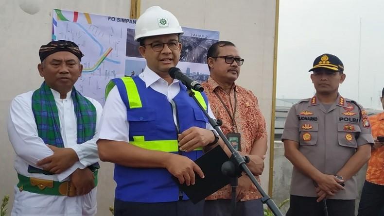 Hasil Kolaborasi, Pemprov DKI dan Pemkot Bekasi Resmikan Fly Over Cipendawa dan Rawa Panjang