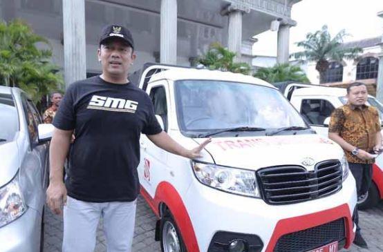 Gratis, Warga Bisa Gunakan Mobil Dinas Wali Kota Semarang untuk Acara Pernikahan