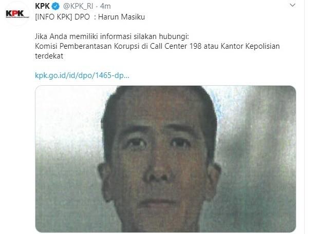 Usai Djoko Tjandra, Polisi Akan Bantu Penangkapan Harun Masiku
