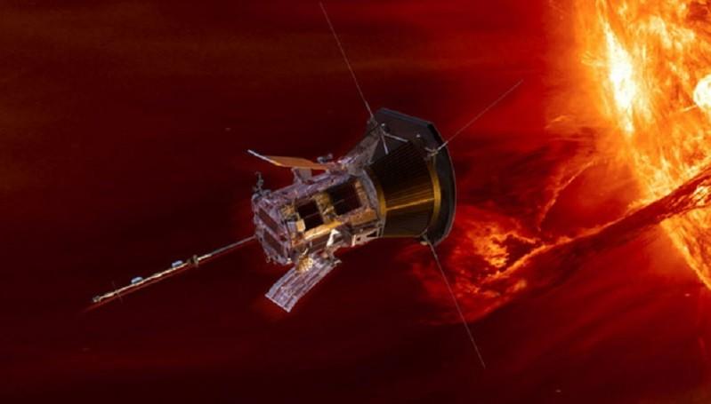 Data Parker Solar Probe Ungkap Hubungan Antara Lidah Api Matahari dan Radiasi