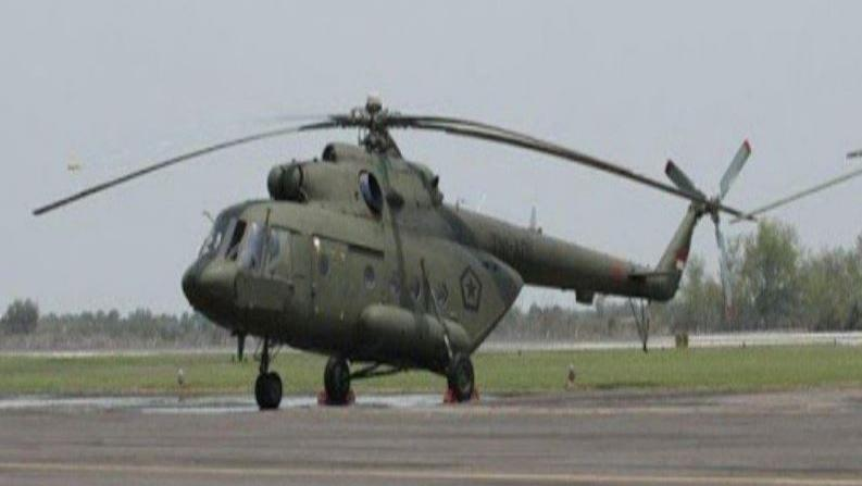 Pencarian Helikopter MI 17 Dipimpin Langsung Pangdam XVII Cenderawasih