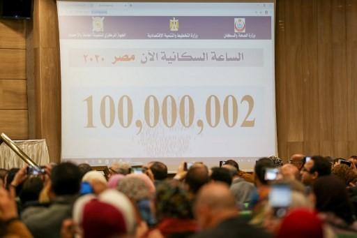 Mesir Klaim Populasinya Sudah Lampaui 100 Juta Jiwa