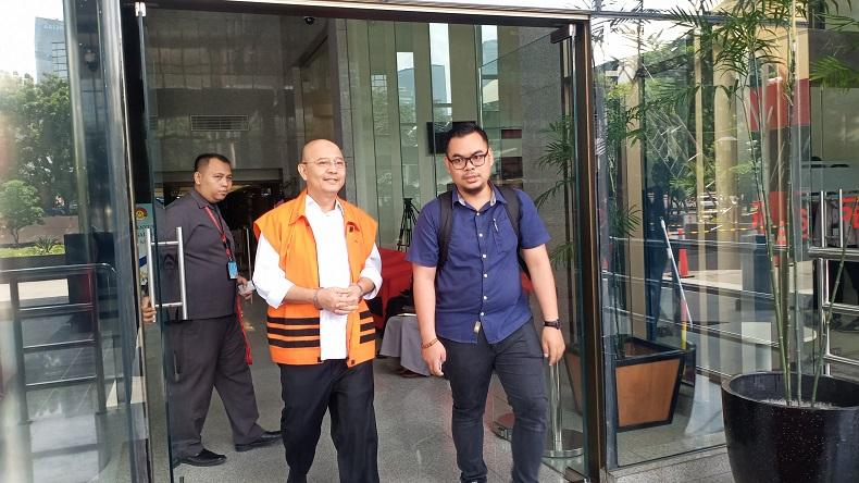 KPK Limpahkan Berkas Kasus Suap Wali Kota Nonaktif Dzulmi Eldin ke Tipikor Medan