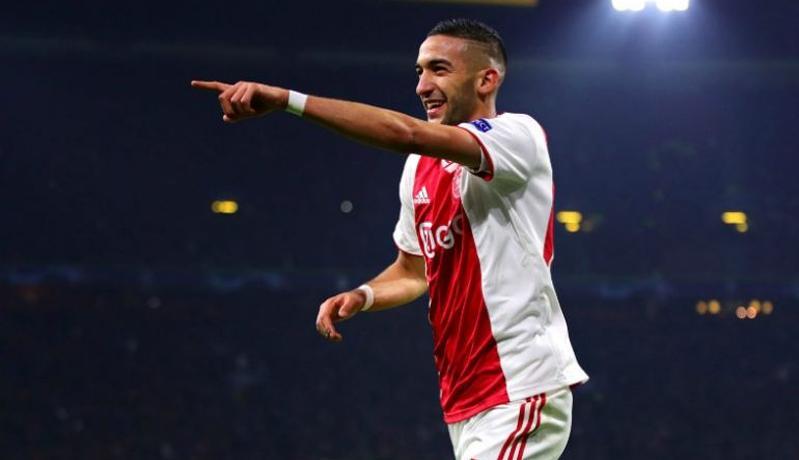 Pelatih Ajax Bangga Hakim Ziyech Segera Gabung ke Chelsea