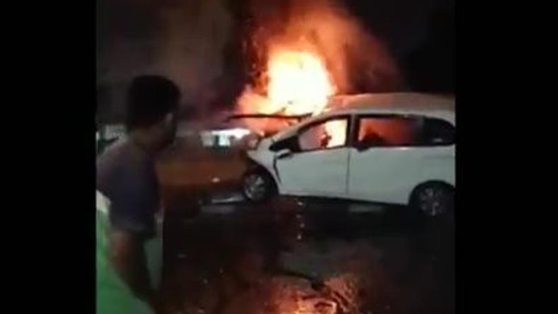 Pengemudi Tewas dalam Mobil Terbakar di Medan Ternyata Bos Diskotek The Cube