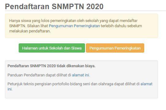 SNMPTN Dimulai, Begini Alur Pendaftaran Bagi Calon Mahasiswa