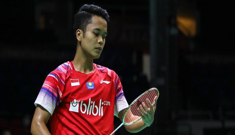 Hasil Thailand Open 2021: Anthony Ginting Tersingkir, Hafiz/Gloria ke Perempat Final