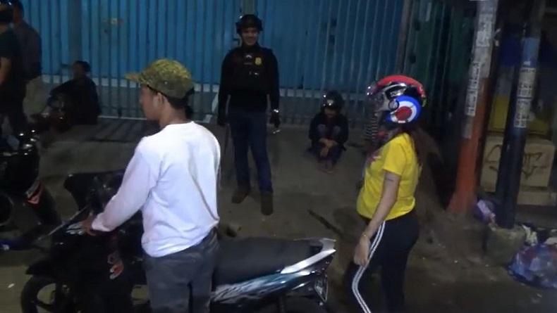 Bawa Istri Hamil 6 Bulan, Joki Balap Liar di Makassar Kocar-kacir Dikejar Polisi