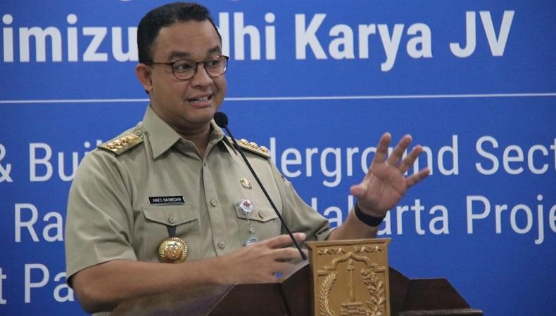 Anies Baswedan Umumkan Kelanjutan PSBB Jakarta Sore Ini
