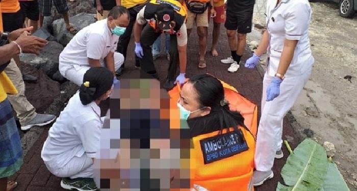 Identitas Mayat Pria Bertato di Pantai Padanggalak Bali Terungkap